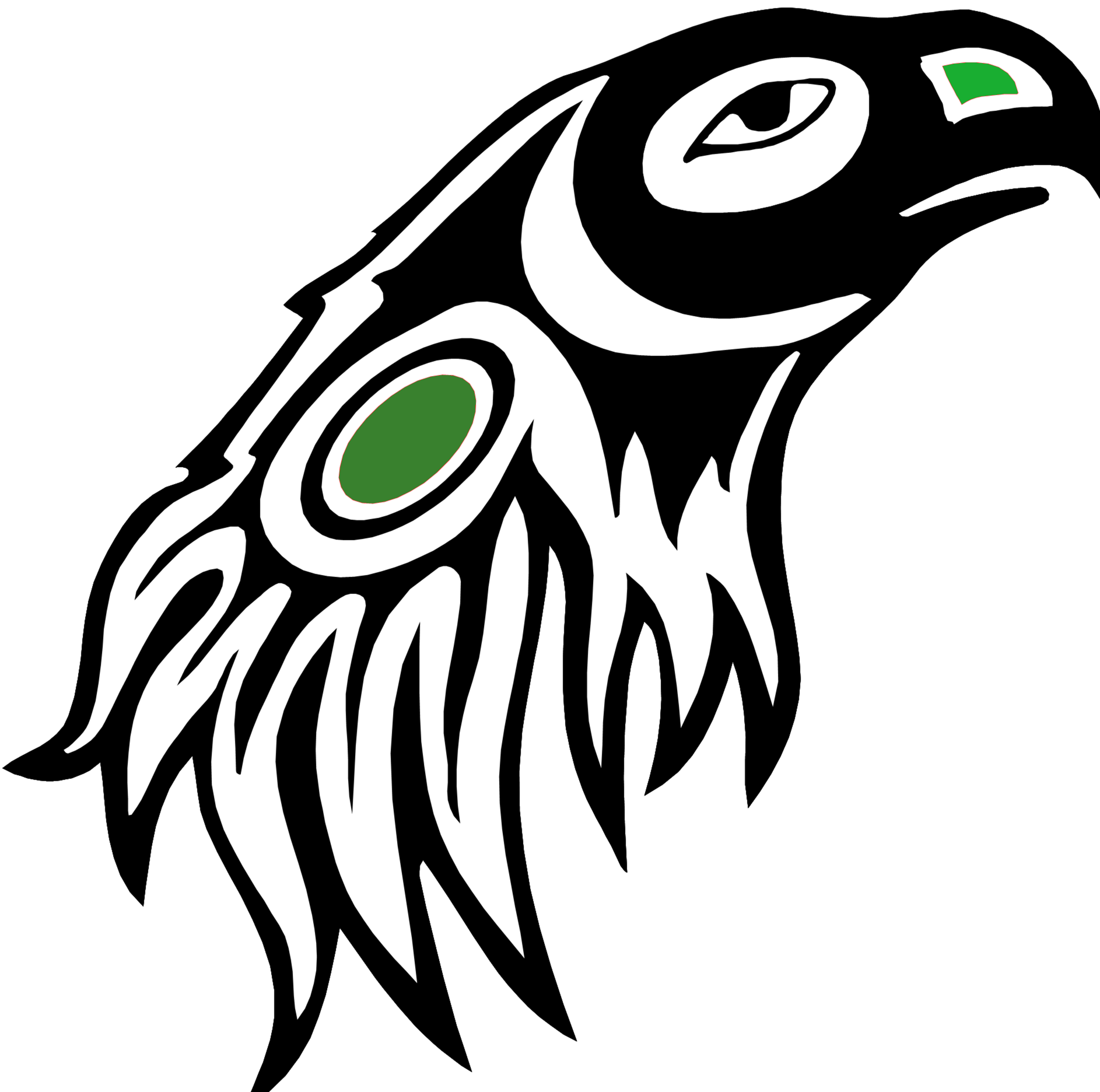 Native American Eagle Clipart - Clipart Kid