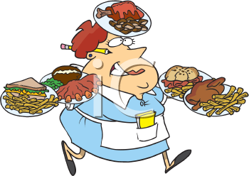 Restaurant Server Clipart - Clipart Kid