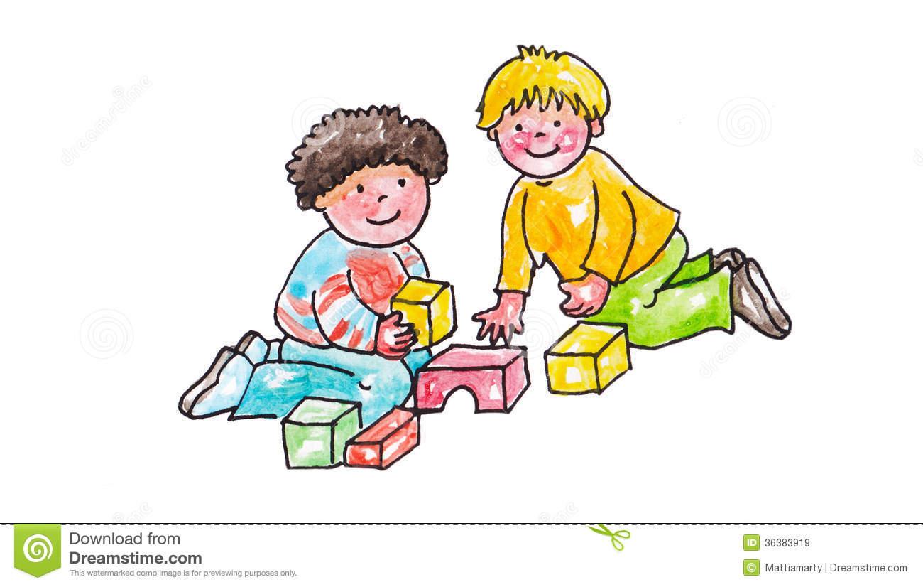 Sharing Toys Clipart Sharing Toys Clipart