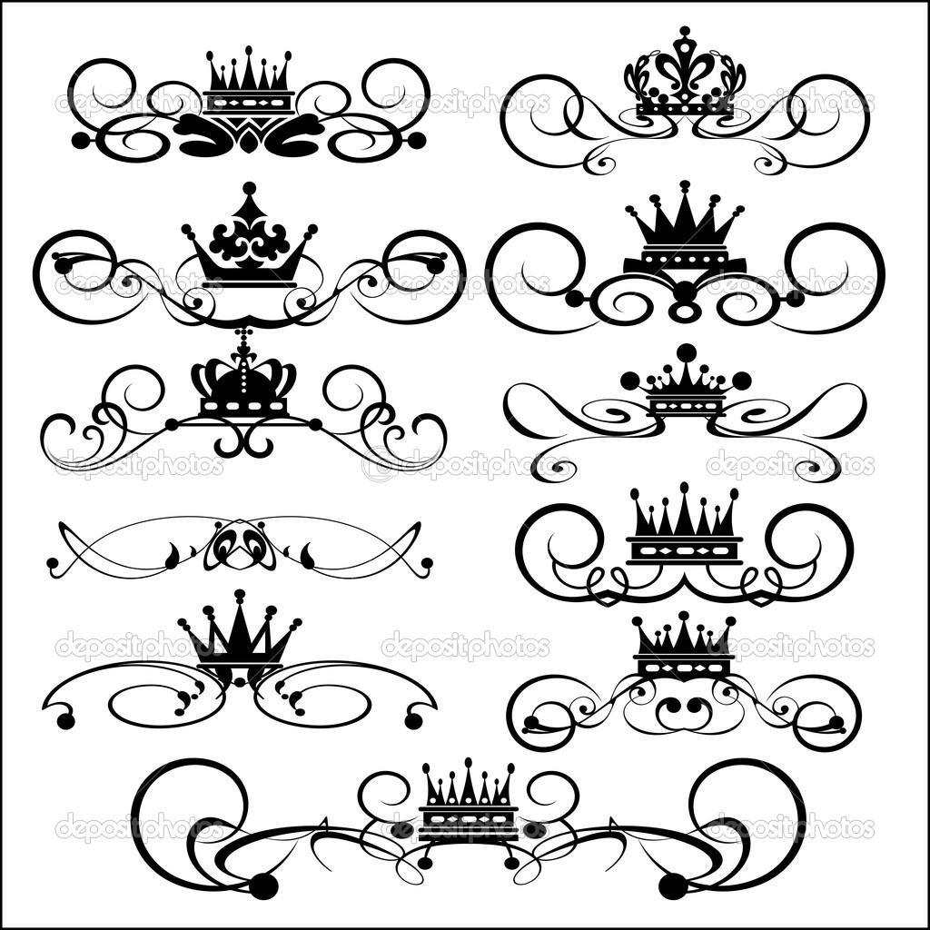 clip art filigree crown clipart clipart suggest. Black Bedroom Furniture Sets. Home Design Ideas