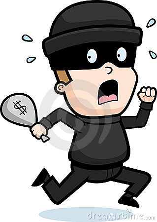 Cli Buff Bank Robber Royalty Free Rf Robber Cartoon Robber