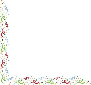 Confetti Border Clipart - Clipart Kid