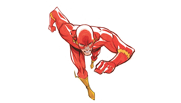 Flash Superhero Clipart Flash  Flashin  It Up