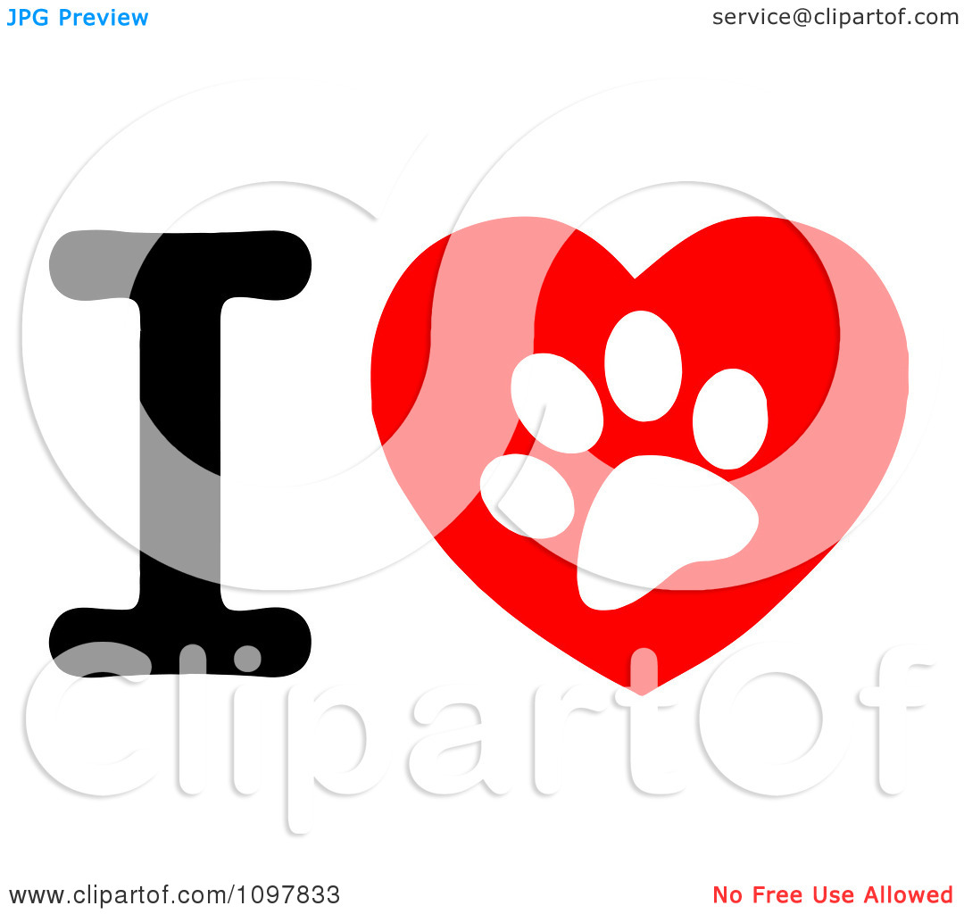Paw Print Trail Clipart - Clipart Kid