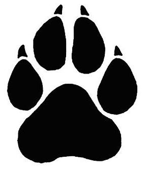 Paw Prints Of A Black Panther Free Cliparts That You Can Download To
