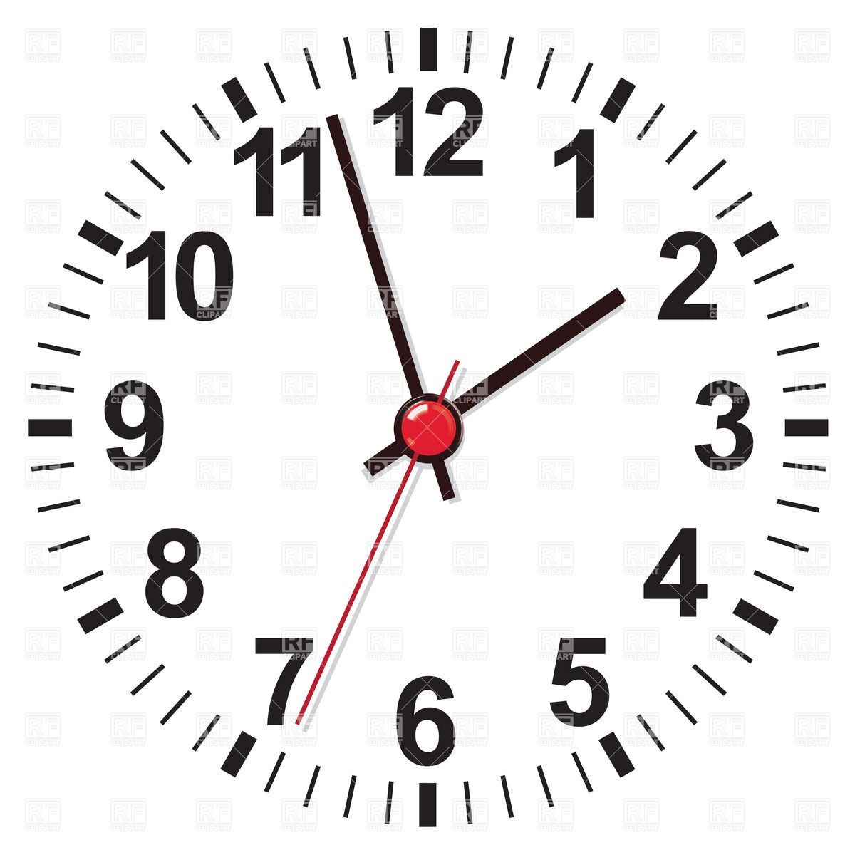 White Clock Face 27704 Objects Download Royalty Free Vector Clip