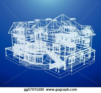 blueprints of house clip art free � cliparts