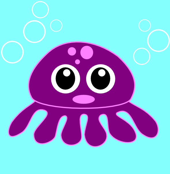 Cartoon Octopus Clip Art At Clker Com   Vector Clip Art Online