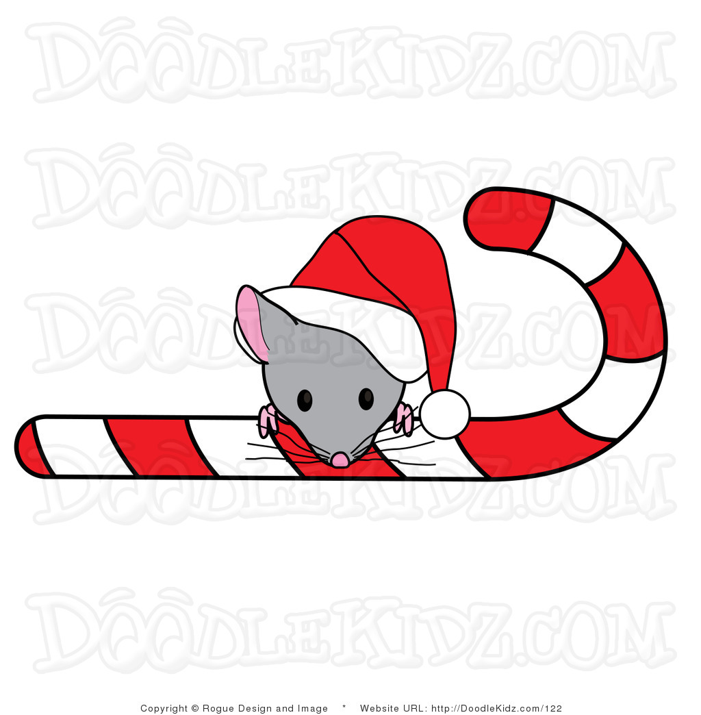 christmas mouse clipart - photo #5