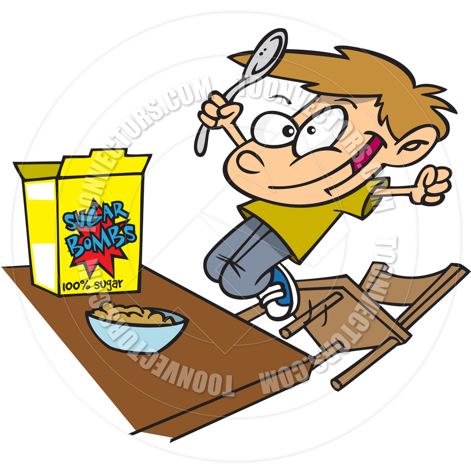 Eating Cereal Clipart - Clipart Suggest