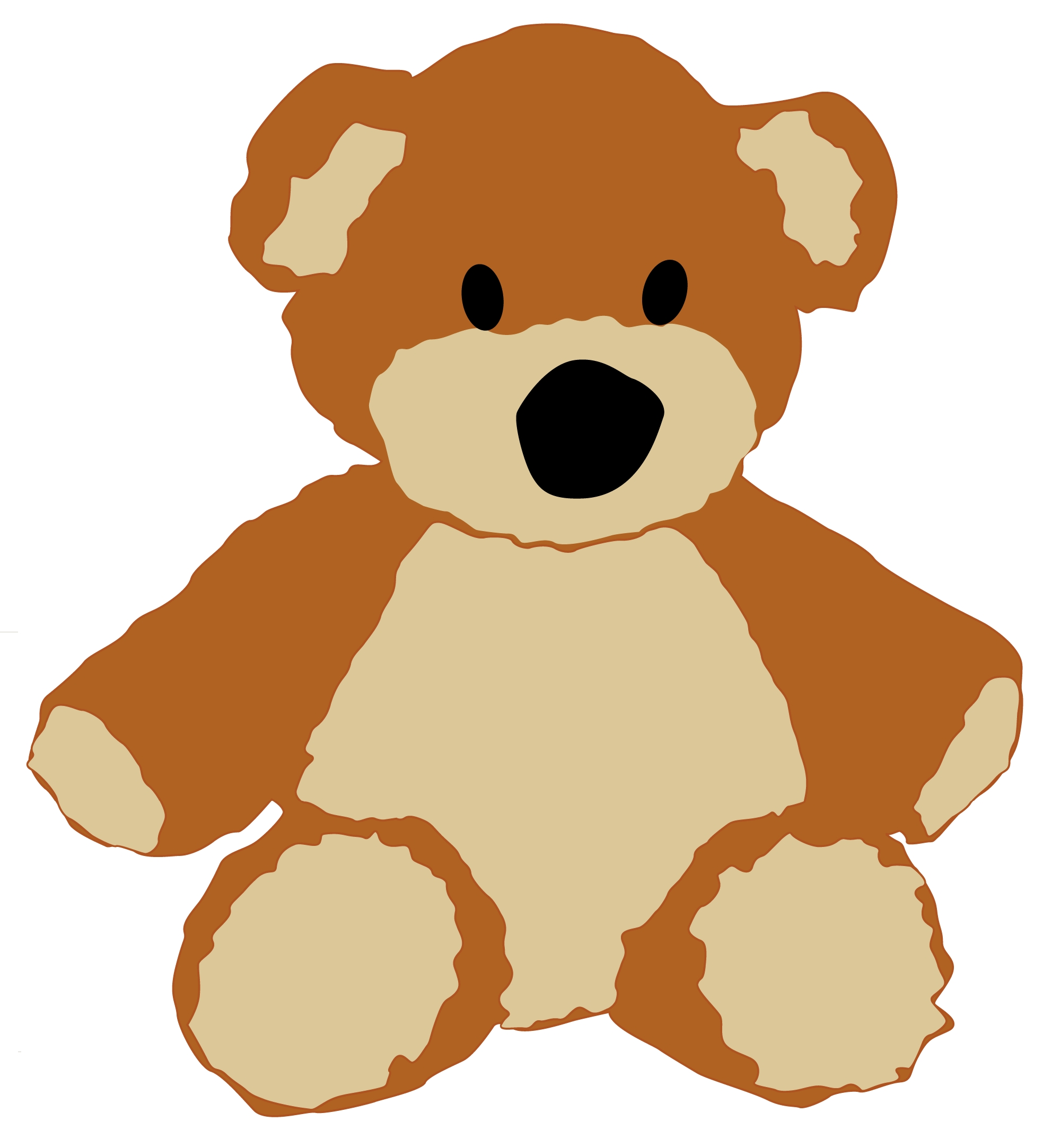 Free Teddy Bear Craft Bear1