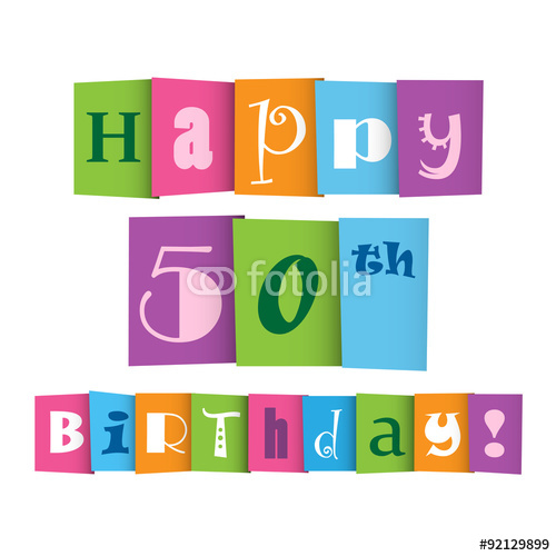 Pin Free Happy 50th Birthday   Clipart Panda Free Clipart Images
