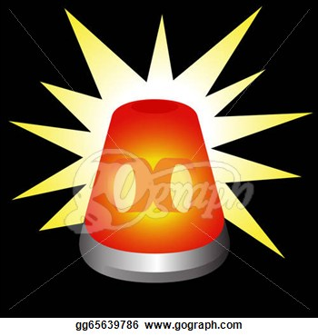 Red Warning Light Clipart   Cliparthut   Free Clipart