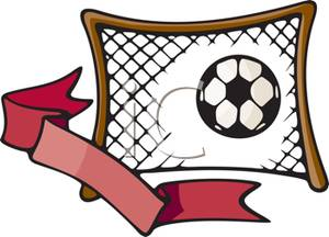 Soccer Net Clipart - Clipart Kid