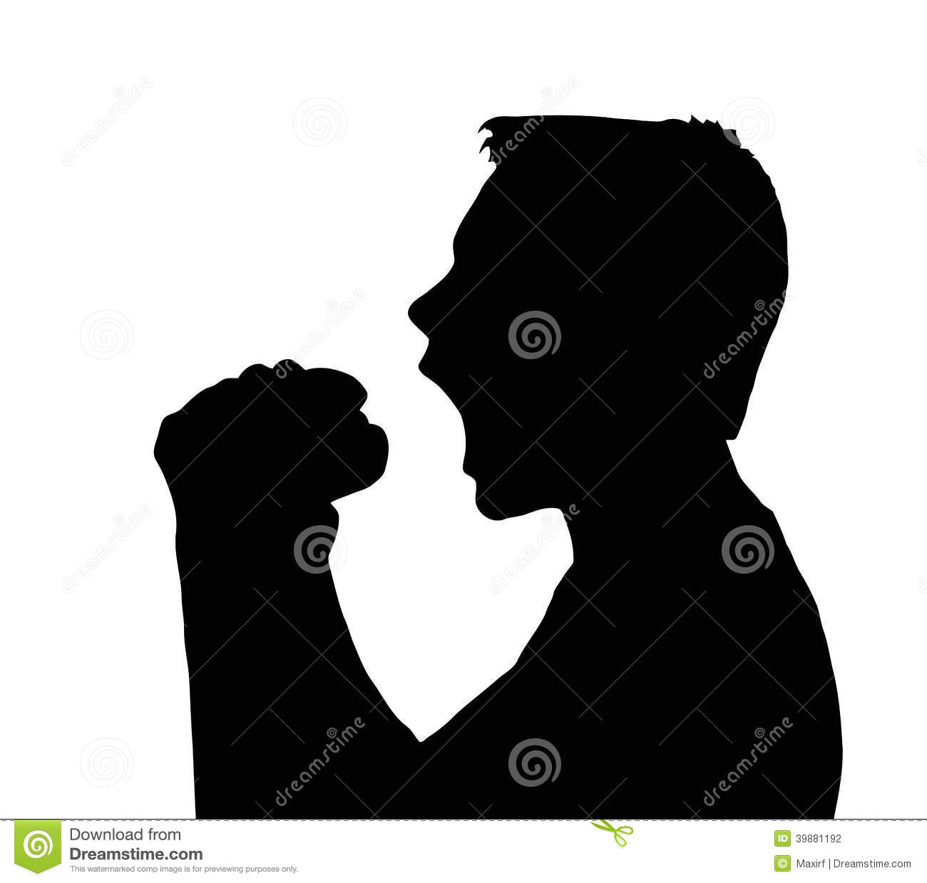 Teen Boy Silhouette Taking Large Bite From Burger Stock Vector   Image