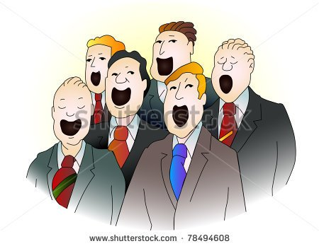 Choir Singing Stock Photos Illustrations And Vector Art