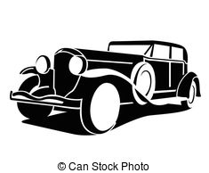 Classic Car Clipart And Stock Illustrations  6755 Classic Car Vector