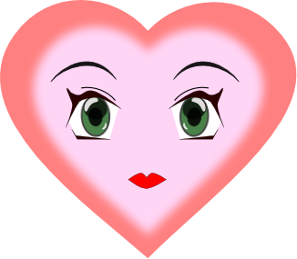 Clipart Heart Faces Clipart 4 Images Page 1 Of 1