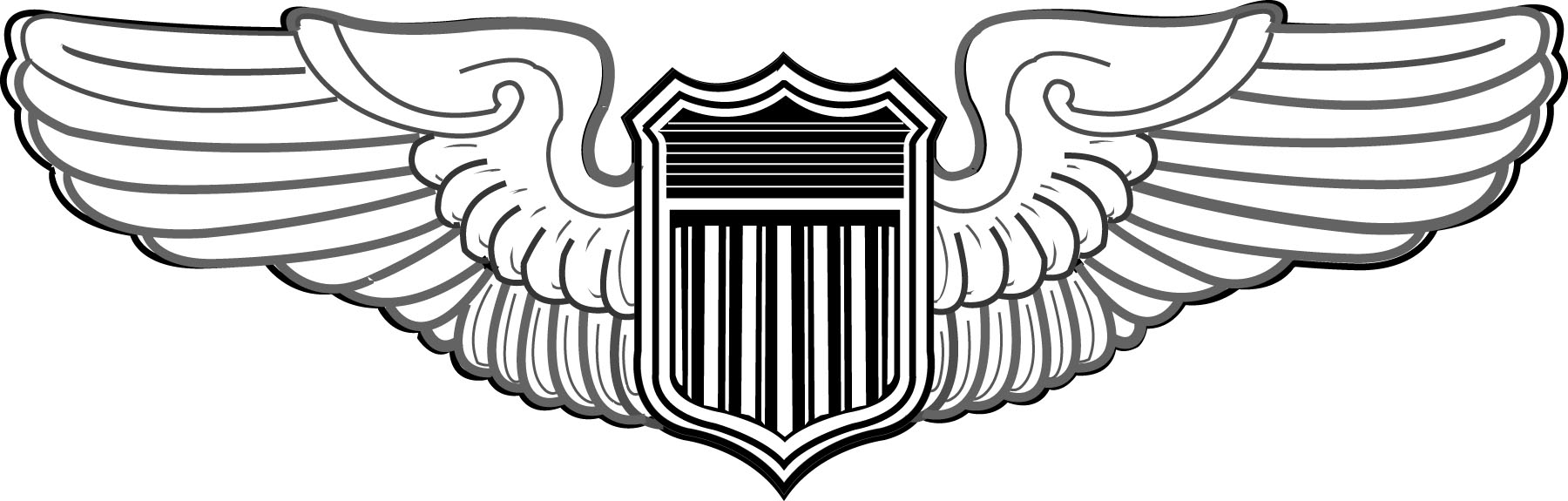 Gallery For   Air Force Wings Clip Art