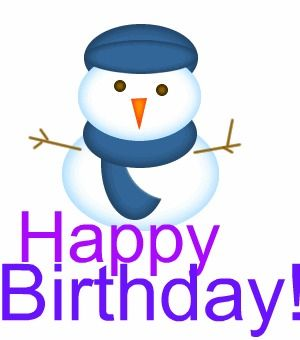 Winter Birthday Clipart - Clipart Suggest