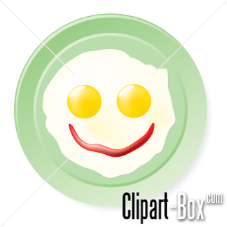 Related Fried Egg Smile Cliparts