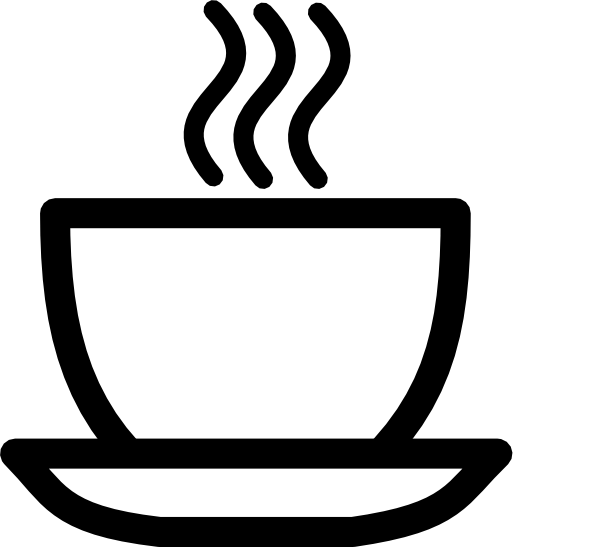 Teacup Clipart Black And White Tea Cup Clipart Black And White Png