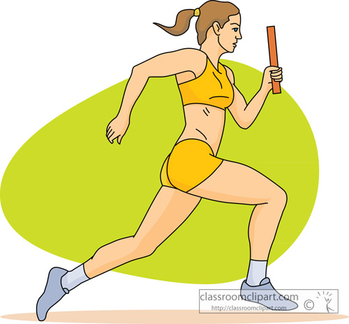 Track And Field Clipart - Clipart Kid
