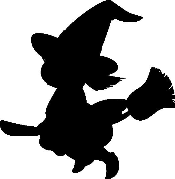 Witch Silhouette Clip Art At Clker Com Vector Clip Art Online