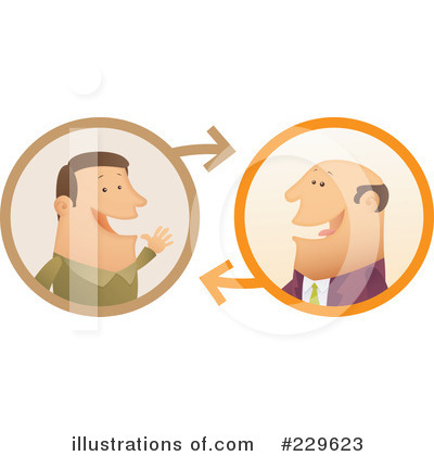 Conversation Clipart  229623 By Qiun   Royalty Free  Rf  Stock