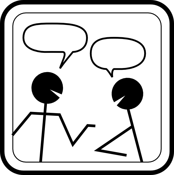 Conversation Clipart From