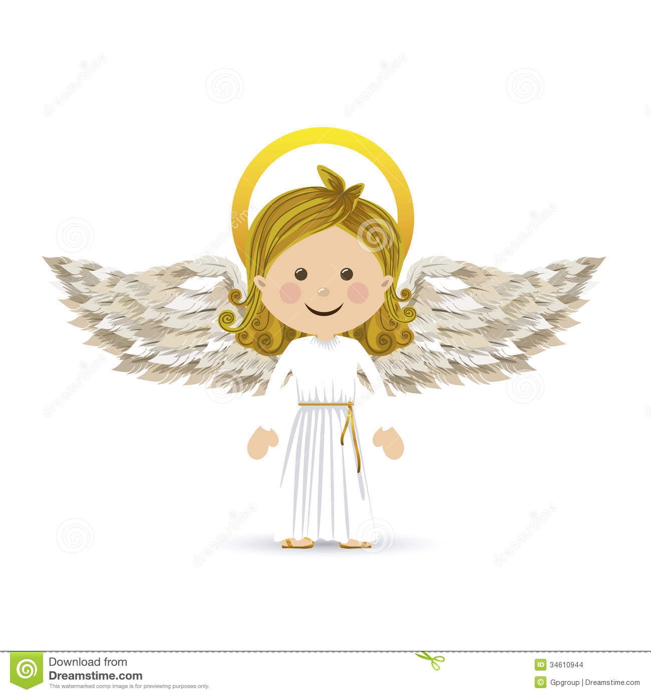 Cute Baby Angel Clipart - Clipart Suggest