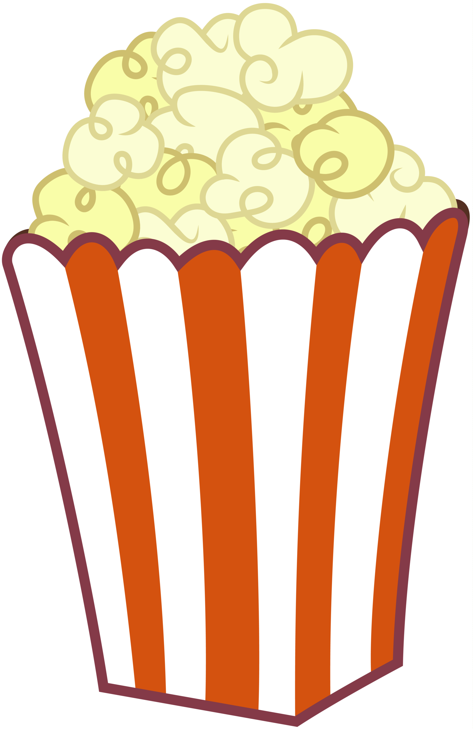 Popcorn Bag Clipart - Clipart Kid