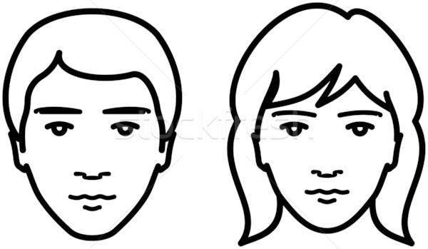 clipart human face - photo #5