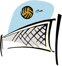 Beach Volleyball Clip Art   Clipart Panda   Free Clipart Images