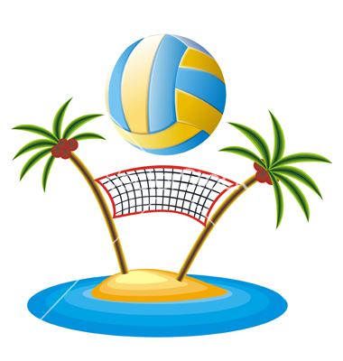 Beach Volleyball Logos   Clipart Best
