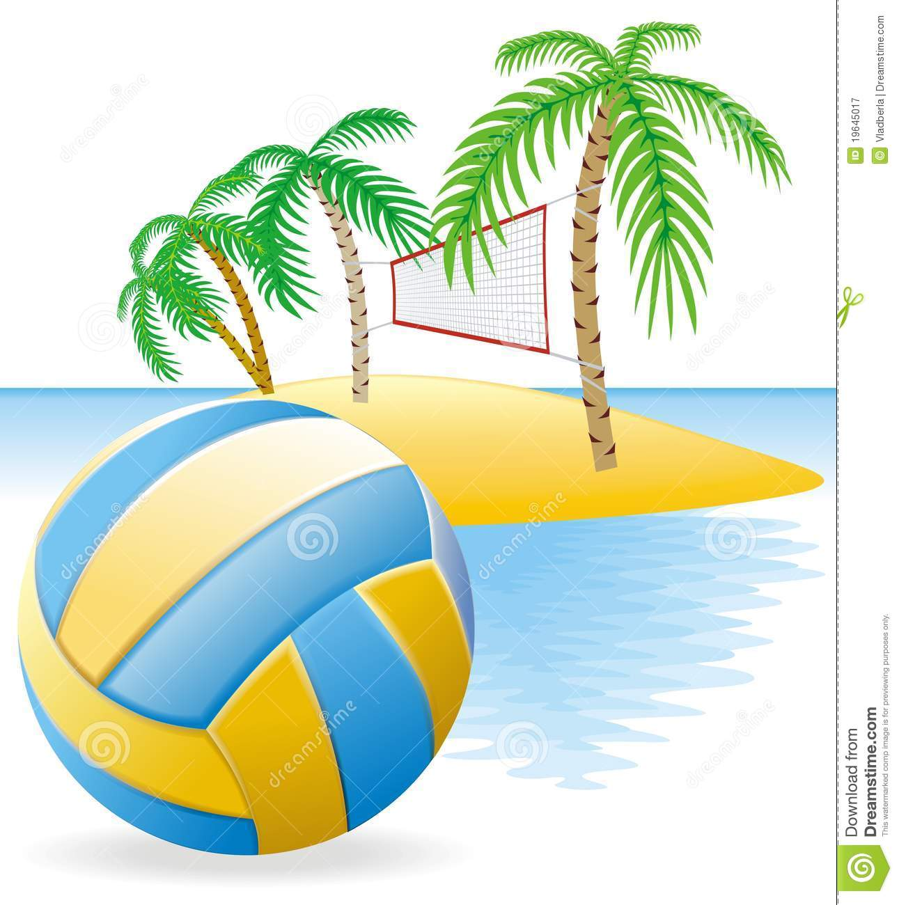 Beach Volleyball Royalty Free Stock Photography   Image  19645017