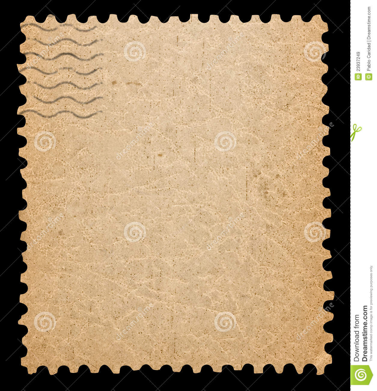 Blank Postage Stamp  Royalty Free Stock Images   Image  23937249