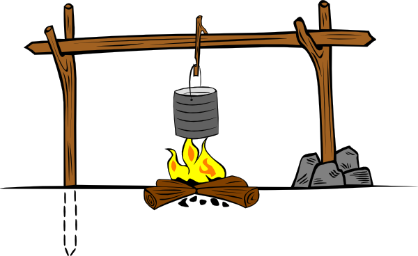 Campfire Cooking Clipart   Clipart Panda   Free Clipart Images