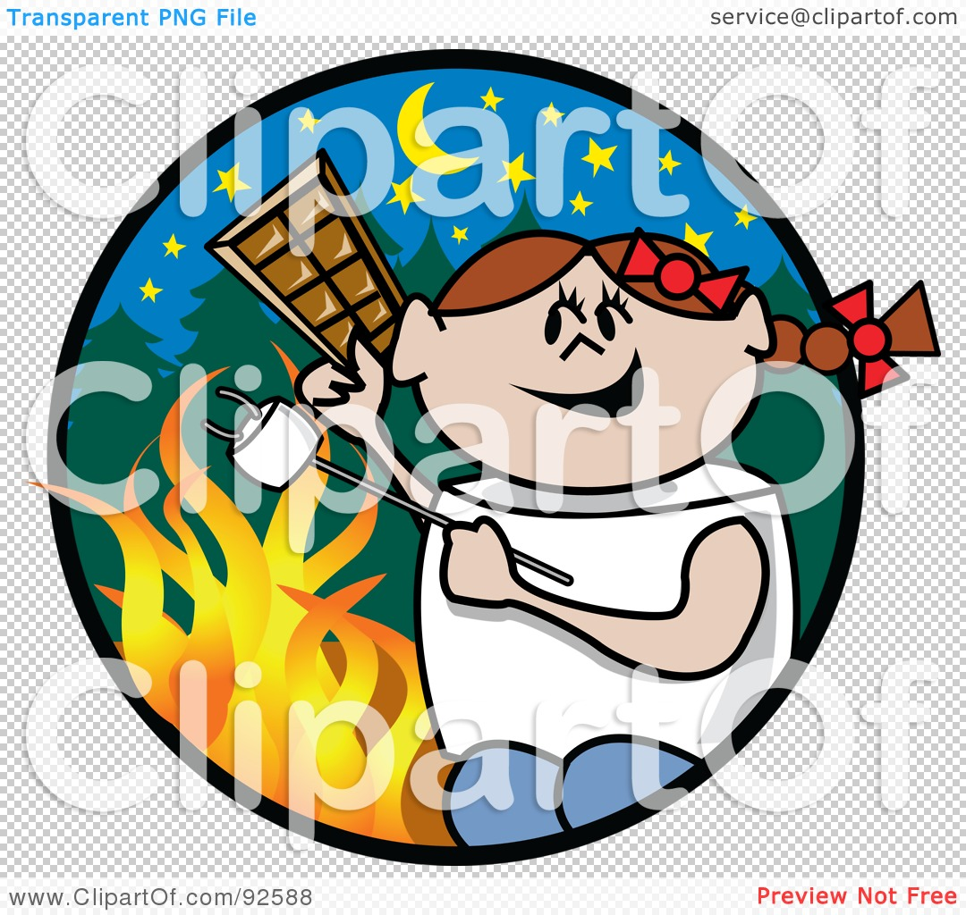 Campfire Cooking Clipart Royalty Free Clipart Picture