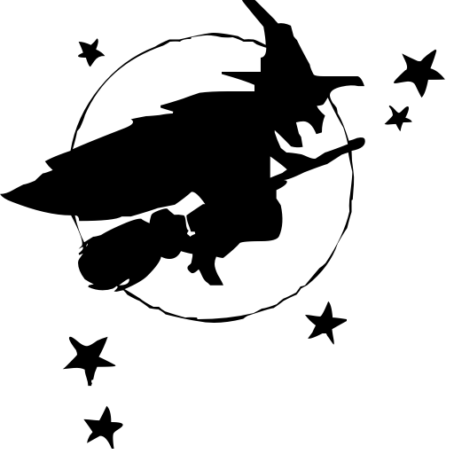 Clip Art Of Halloween Witches