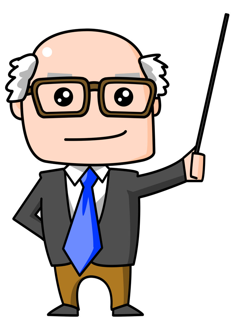 Clipartlord Com Exclusive This Cute Cartoon Professor Clip Art Is