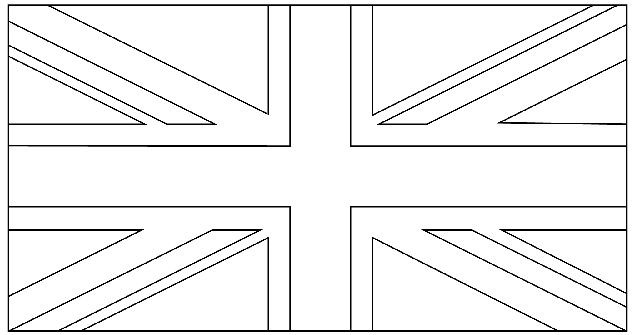 Union Jack Flag Clipart - Clipart Kid