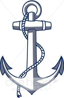 Anchor Clipart   Nautical Wedding Clipart