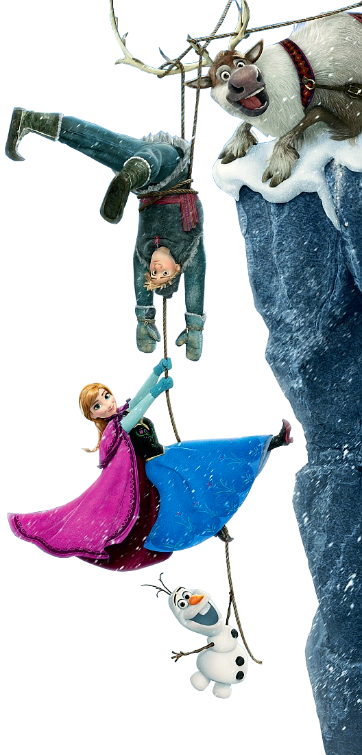 Anna Kristoff Olaf And Sven   Frozen Photo  35635412    Fanpop