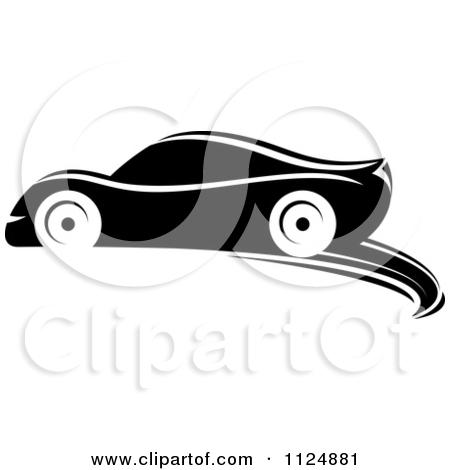 Black Sports Car Cliparts