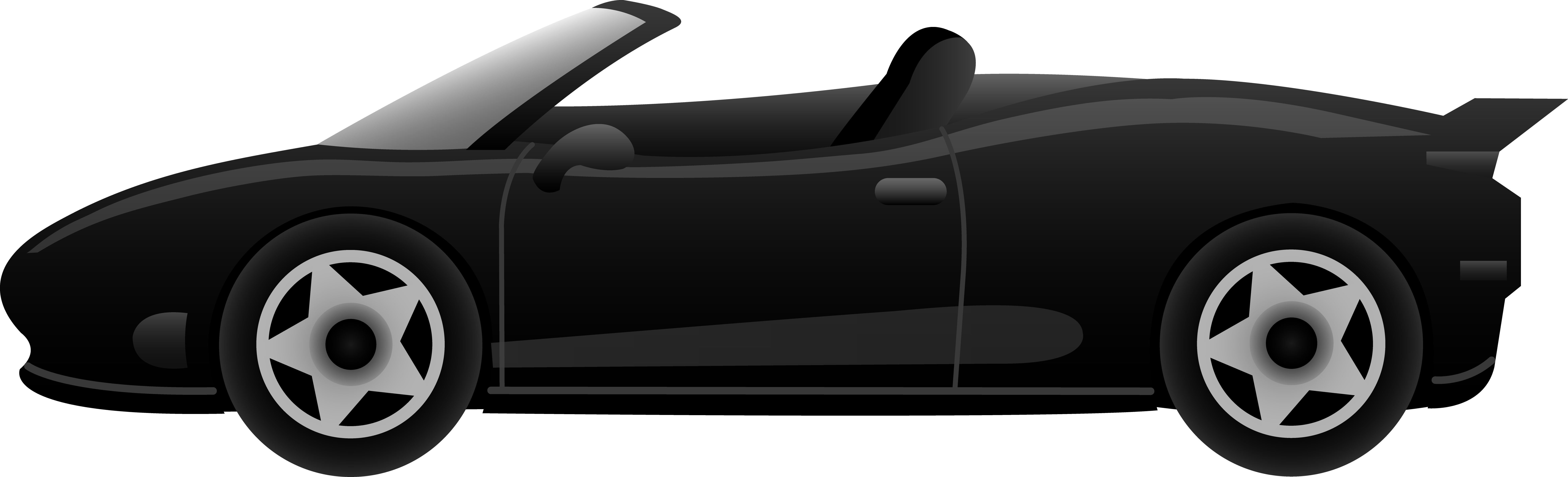 black sports car clipart - photo #8