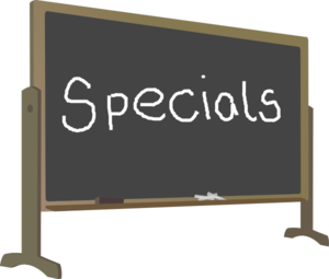 Image result for specials clip art