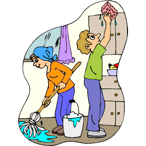 Cleaning Kitchen Clipart Cliparts Of Cleaning Kitchen Free Download
