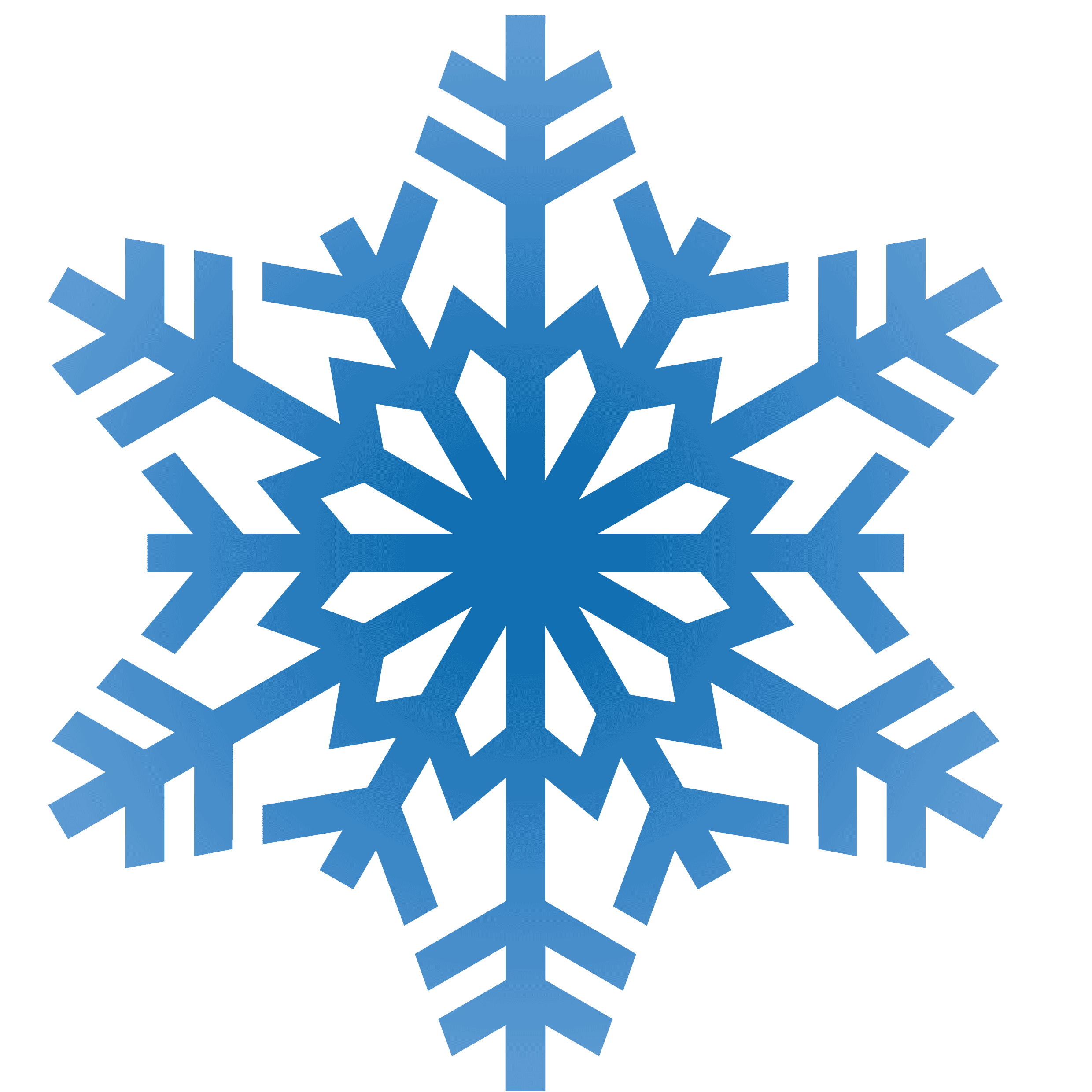 Snowflake Banner Clipart - Clipart Suggest