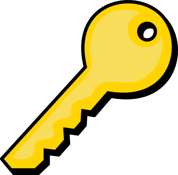 Cartoon Key Clipart Clipart Suggest